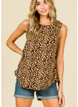 BM Wild Child Sleeveless Top 1163