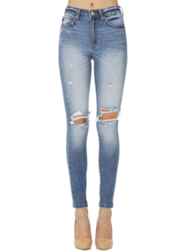 KC High Rise Super Skinny Jean 7263