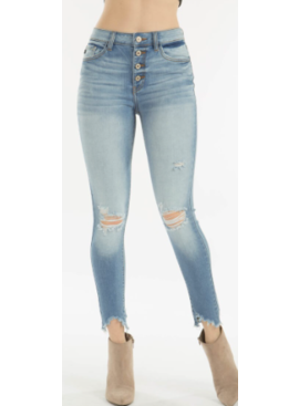 KC Gemma High Rise R&B Skinny 9154