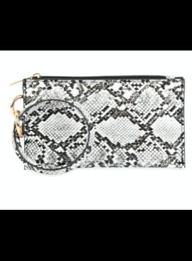 MS Snake Skin Zipper Bag 2809