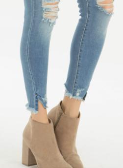 KC Gemma High Rise Ankle Skinny 9150