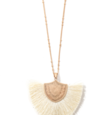 JA Tassel Pendant Necklace 2066