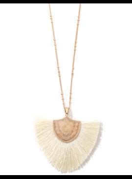JA Tassel Pendant Necklace 2066
