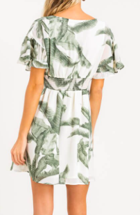 LSH Island Beauty Mini Dress 43144