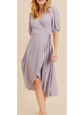 IL Smock Detail Wrap Dress 2395