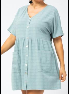 ETO Button Down Dress 13433P