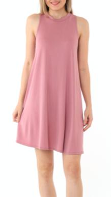 IJH Sleeveless Flare Dress 1336
