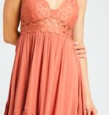 WL Crochet Away Dress 2257