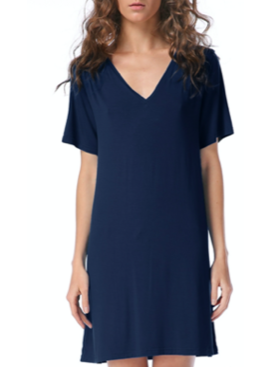 PKO V-Neck T-Shirt Dress 2446