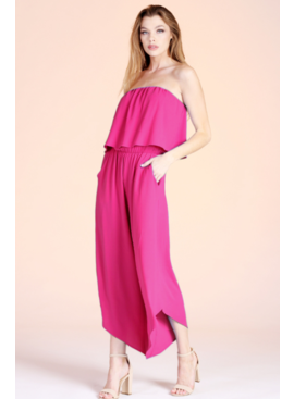 TY Strapless Jumpsuit 5635