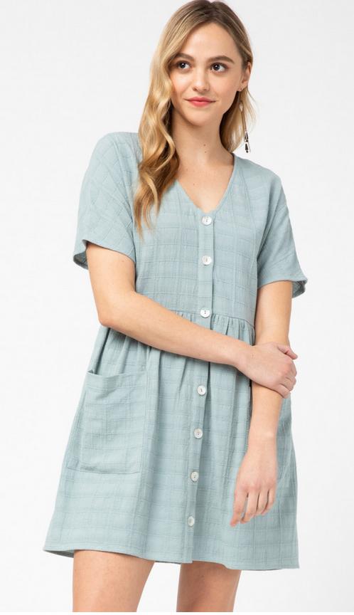 ETO Button Me Up Dress 13433