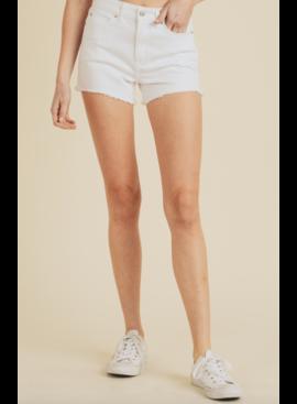JBD White Jean Shorts 118