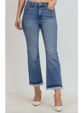 JBD Cropped Flare w/ Fray 275