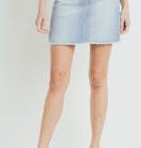 JP A-Line Skirt W/ Fray Hem 123