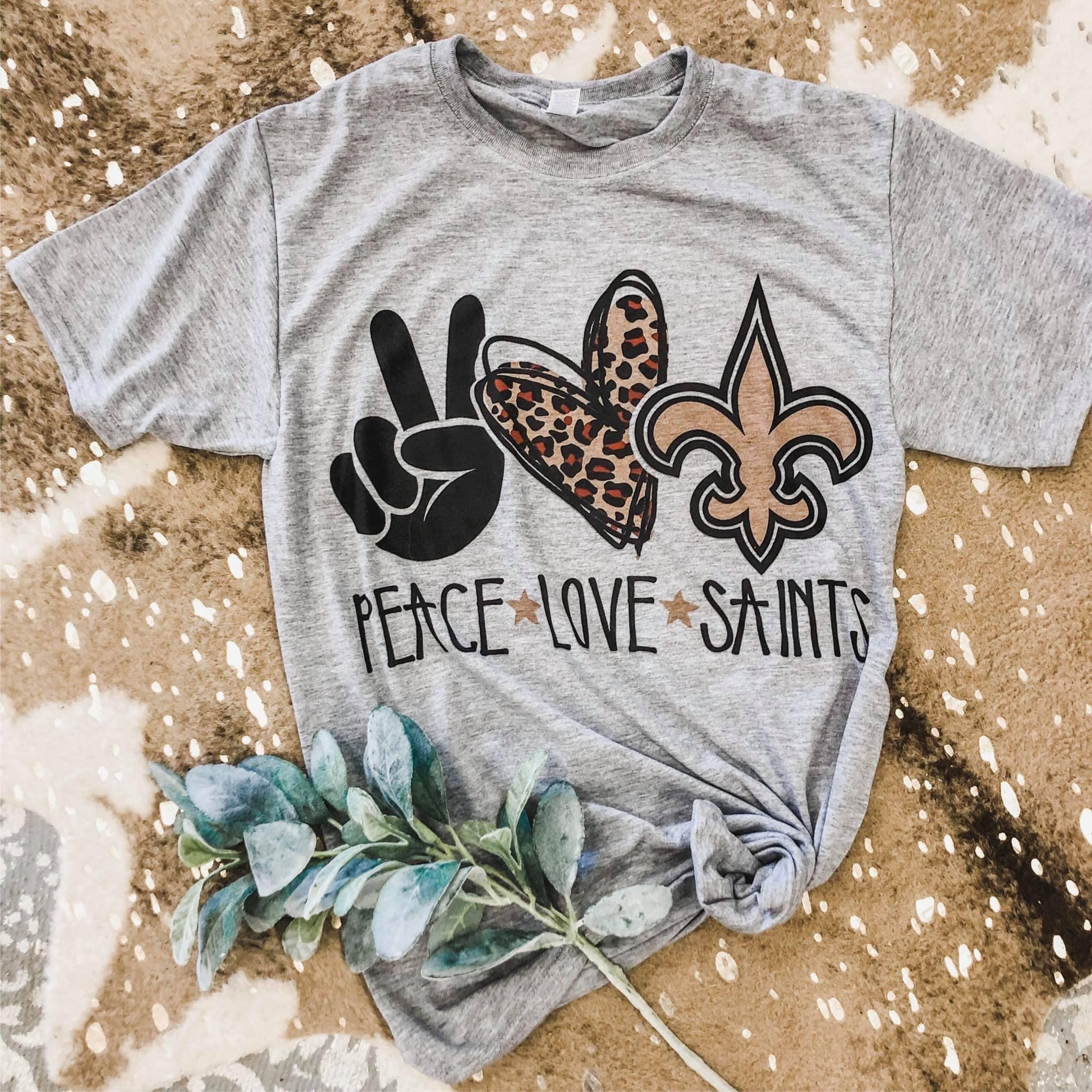 Peace Love Saints Tee