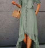 LC Flare Swing Midi Dress 6609