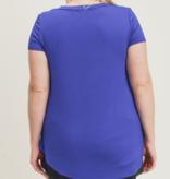 MB Longline Deep V-Neck Pocket Shirt 8254