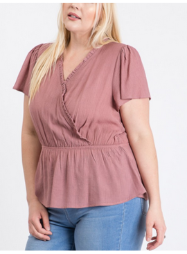 ZNB Over Wrap Top 10833