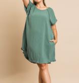 UM Fringe Sleeve Dress 1716