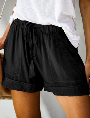 LC Linen Drawstring Shorts 7215