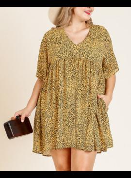 UM Animal Print Dress 2733P
