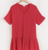 Umgee Roxie Ruffle Hem Dress 2521