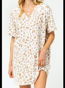 ETO Julian Leopard Dress 5367P