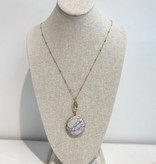 Beaded Crystal Necklace 4061