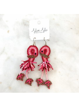 JA Flamingo Earrings