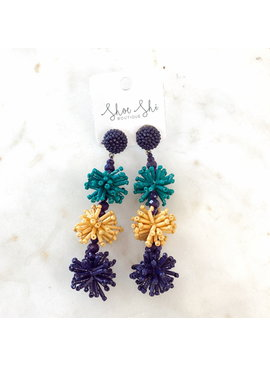 LL Bead Burst Earrings