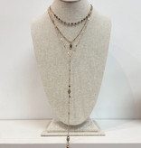 JA Layered Love Necklace 6030