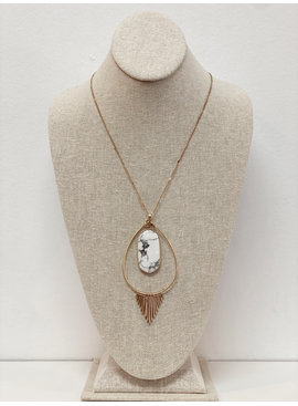 SS Kendra Fringe Necklace