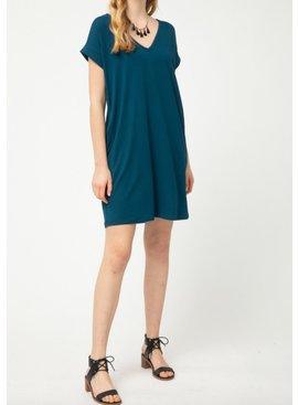 EO Cuffed Sleeve T Shirt Dress 4576