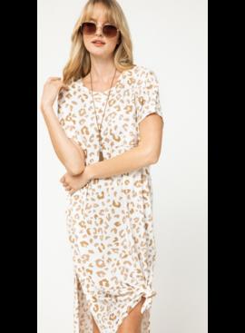 EO Animal Print Maxi Dress 5241