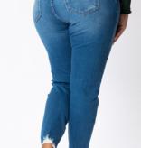 KC Gemma High Rise Ankle Skinny 7329P
