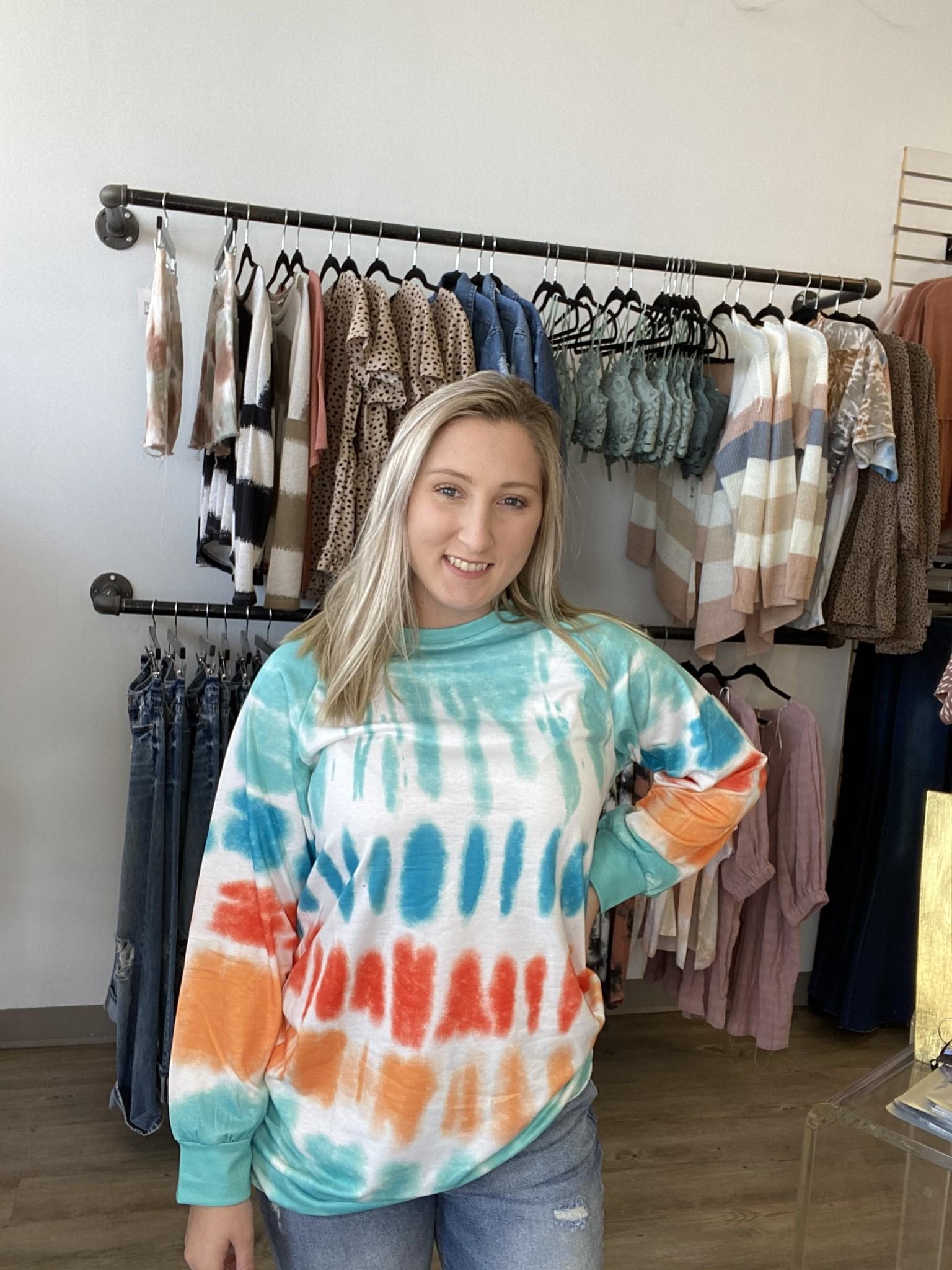 CM Ready For More Tye Dye Sweatshirt