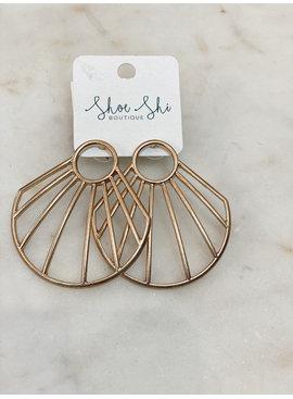 CA Fan Out Earrings