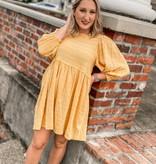 UM Puff Sleeve Dress 2764