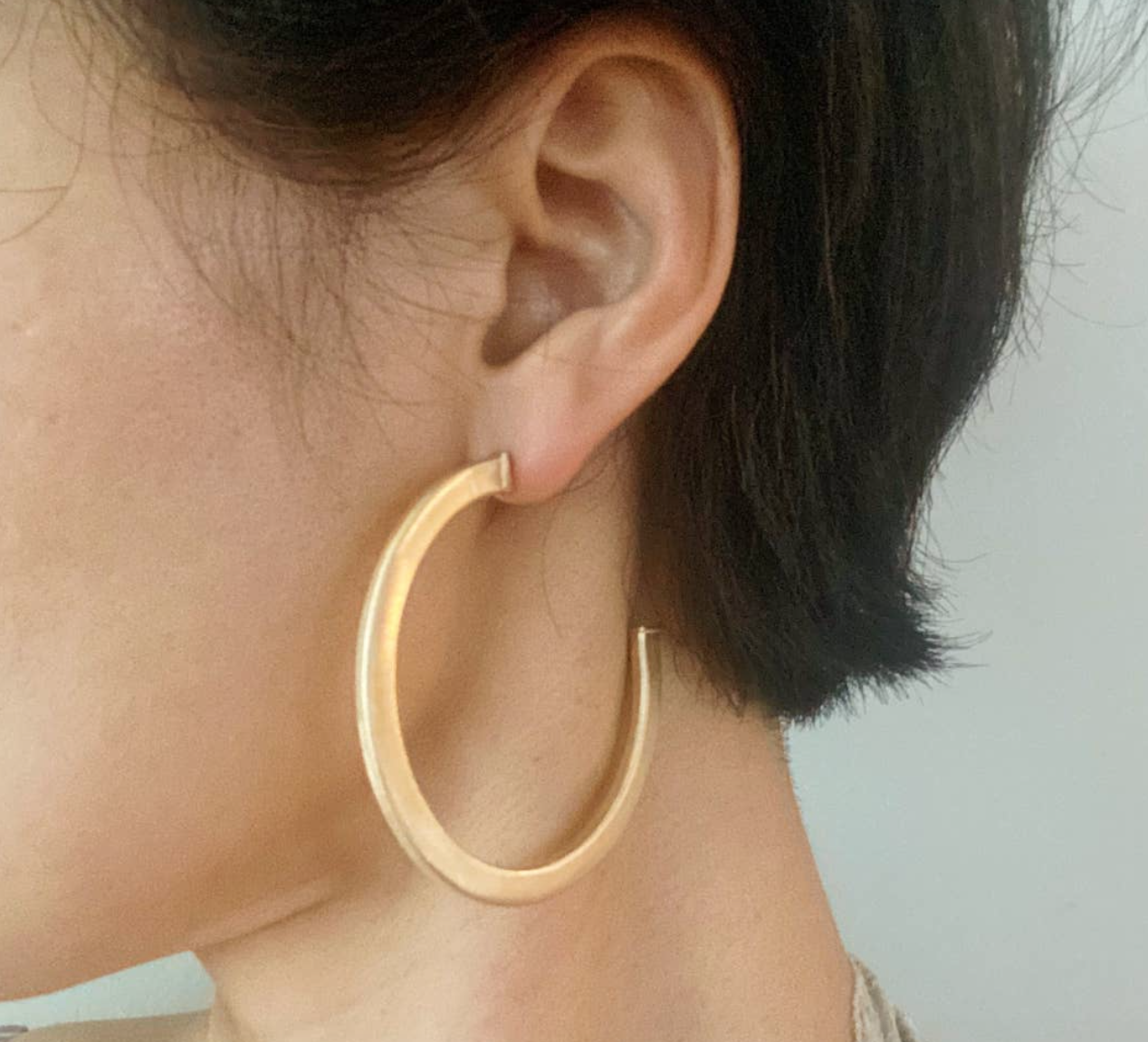 FR Luxe Round Hoops 452