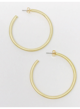 FR Jade Satin Finish Hoops 067