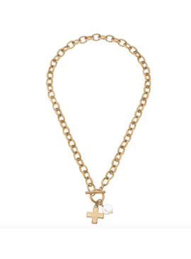 CV Cross Chain Necklace 21744N