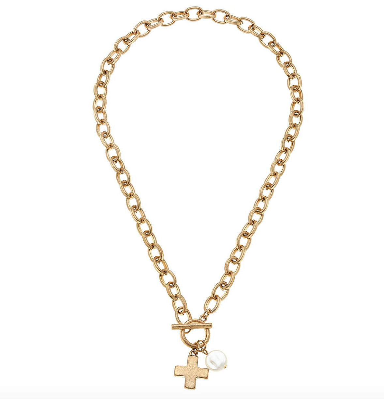 CV Cross Chain Necklace 21744N