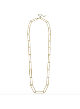 CV Flat Chain Link Necklace 21909