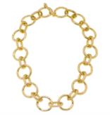CV Circles & Ovals Link Necklace 21880