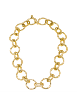 CV Circles & Ovals Link Necklace 21880