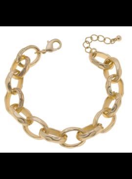 CV Scallop Chain Link Bracelet 21878