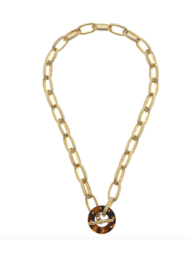 CV Tortoise Chain Link Necklace 21736