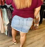 KC Delilah Denim Skirt 8427