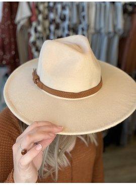 AC Wide Brim Panama Hat 311114