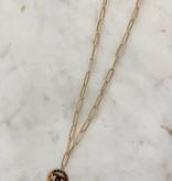 SAJ CC Circle Chain Necklaces